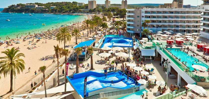 Calvia Beach Resort Sol Hotels in Magaluf, Mallorca