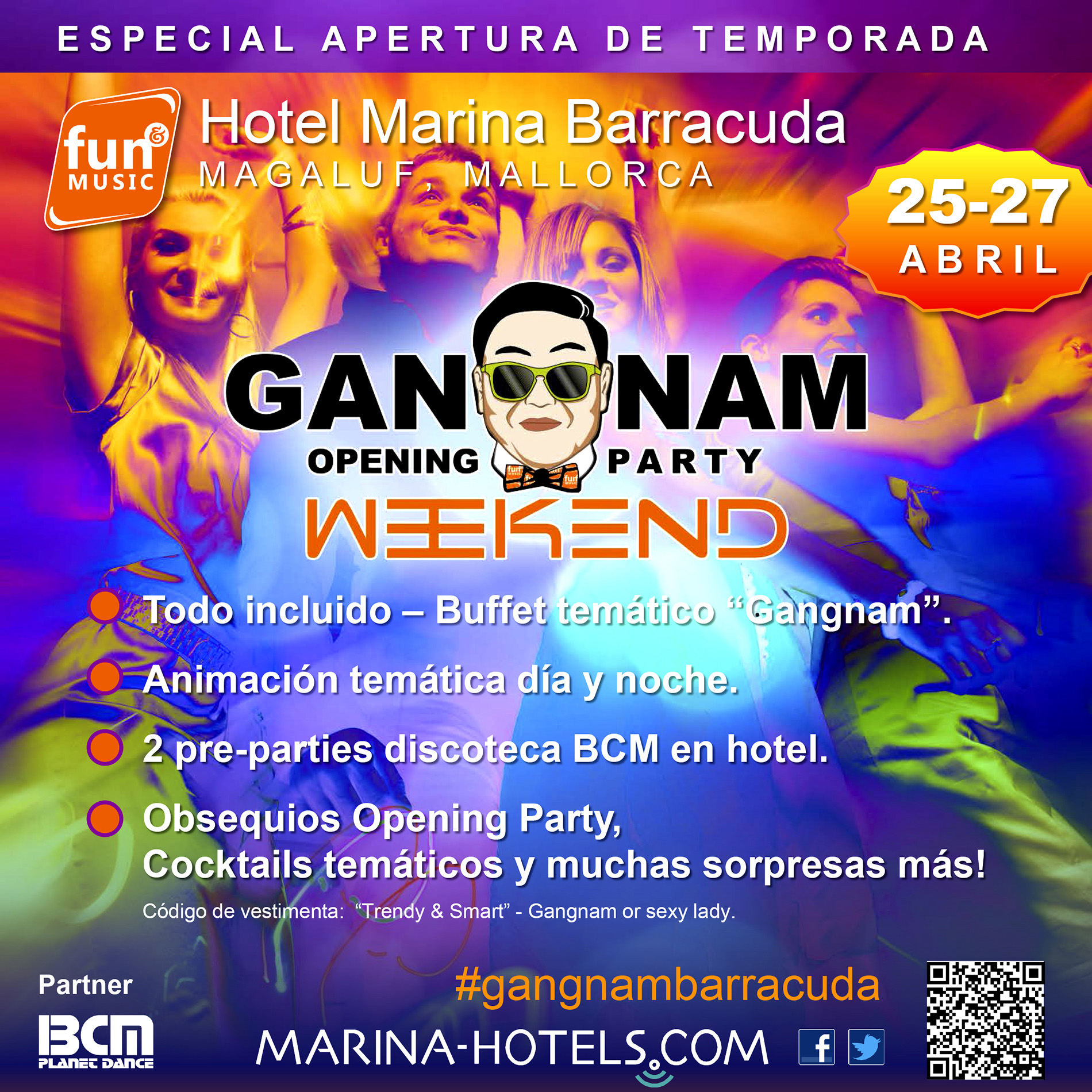 Cartel Gangnam Style Party Hotel Barracuda