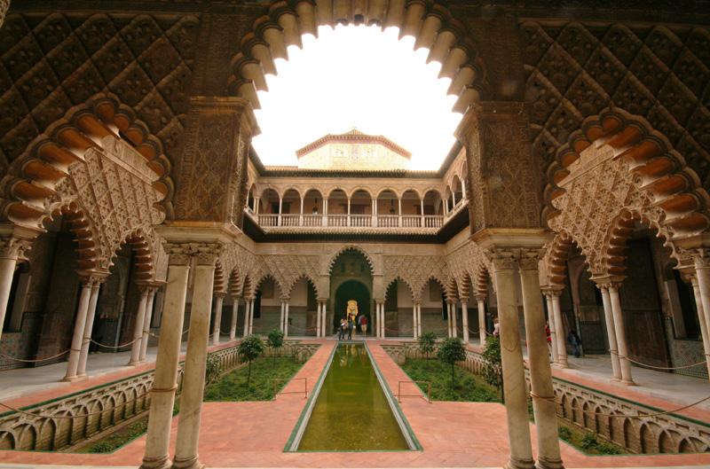Sevilla arquitectura alcazar