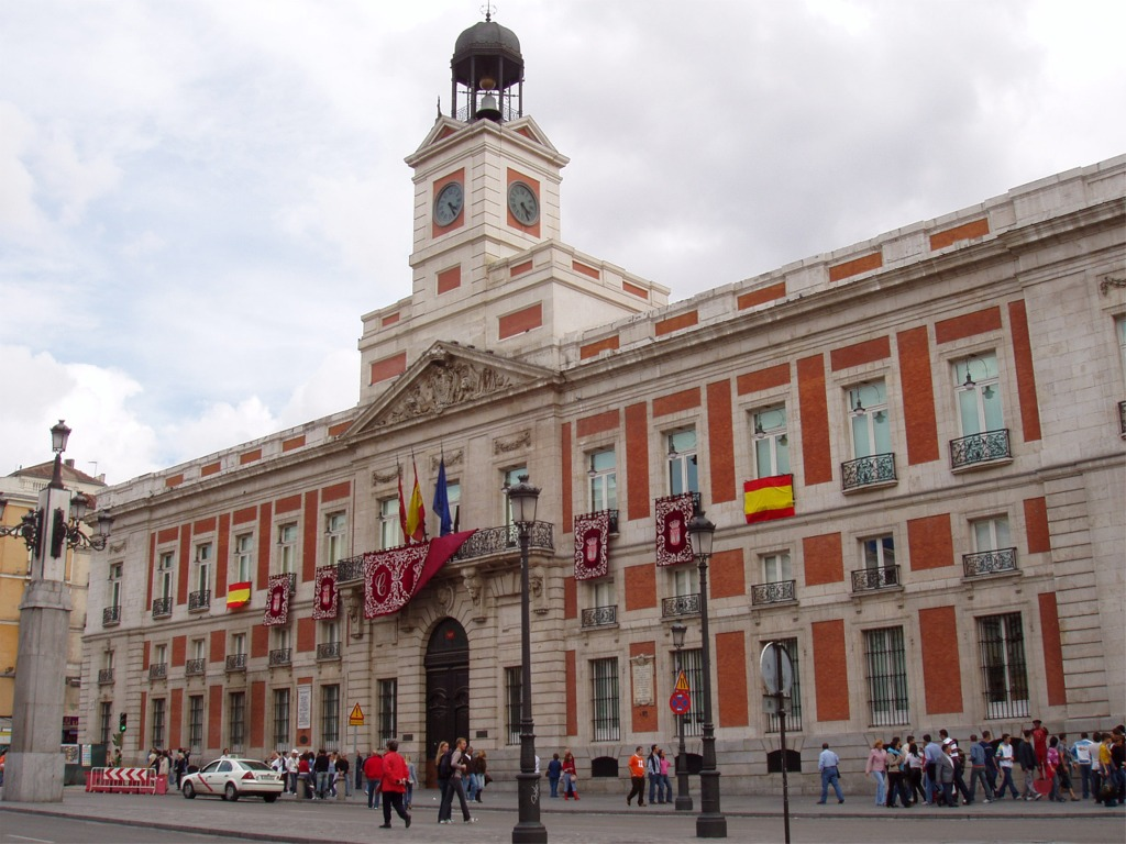 Historia de espa a miguel catal n viaje a madrid los d as for Hotel paris en madrid puerta del sol