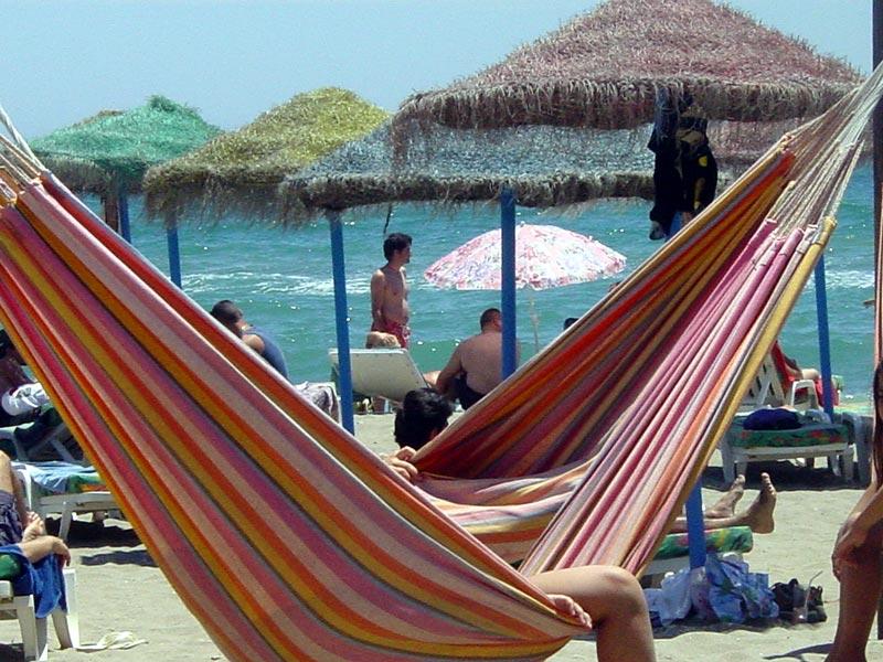 sunbed Fuengirola beach