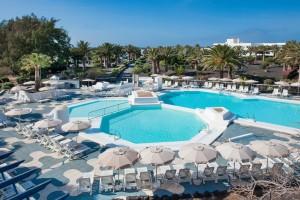 Piscinas Hotel Ole Olivina Lanzarote