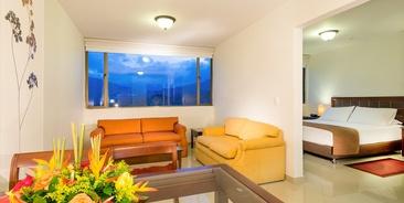 Dann Combeima Hotel Rooms