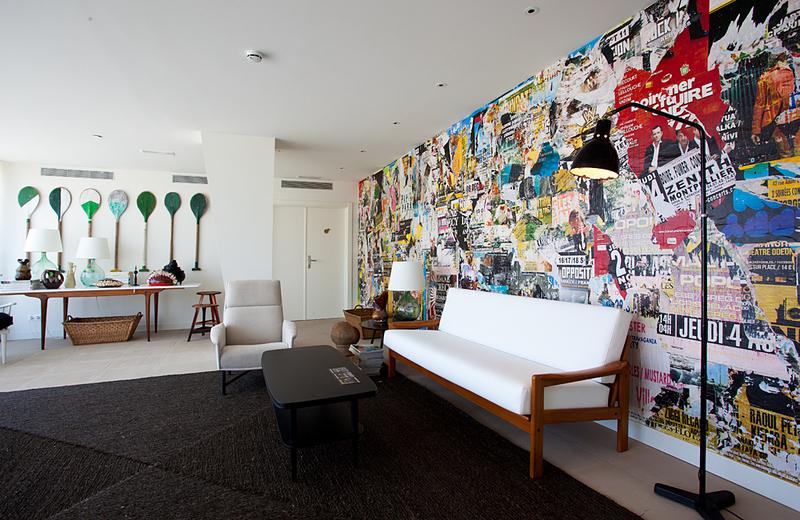 Interiores del hotel Vincci Bit