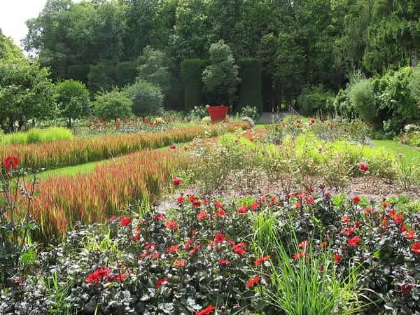 Jardins du château du Rivau, Val de Loire